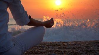 La méditation pour perdre du poids