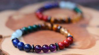 Bracelets des 7 Chakras en pierres naturelle